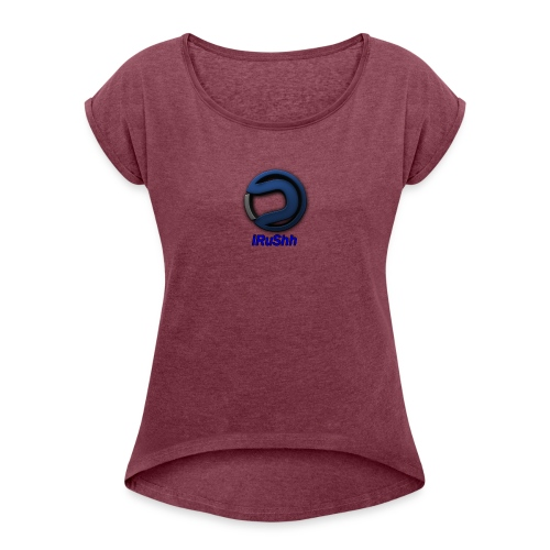 16176761_1450571108308537_1413728760_n - T-shirt à manches retroussées Femme
