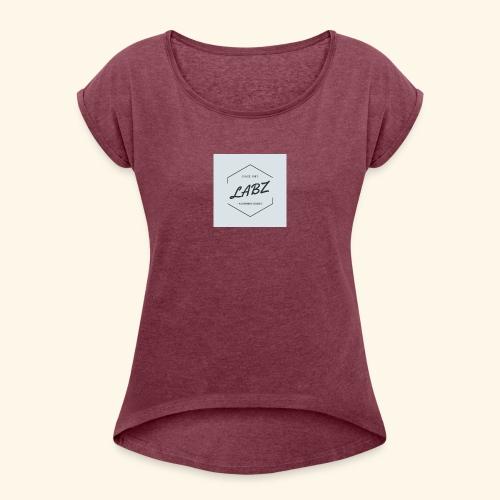 LABZ - Camiseta con manga enrollada mujer