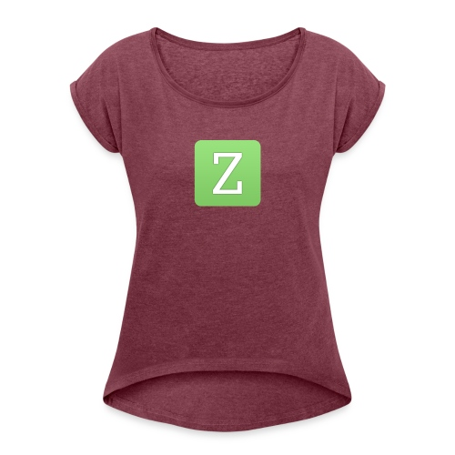 New Zarp Update : Zarp Merch - Women's T-Shirt with rolled up sleeves