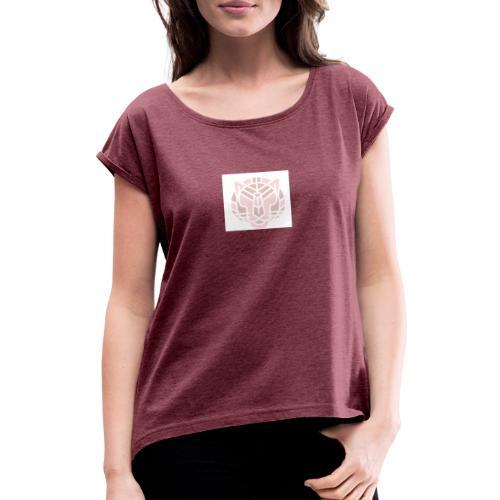 Tiger fra jungle - Dame T-shirt med rulleærmer