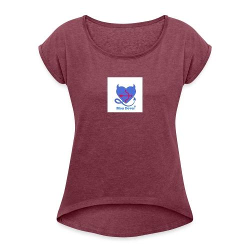 Logo Mon Dover - Maglietta da donna con risvolti