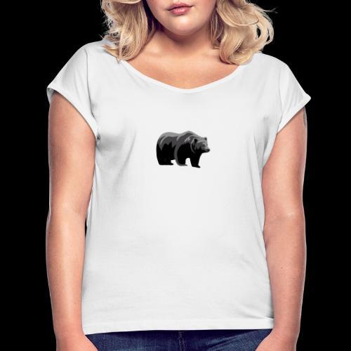 #bärik - Frauen T-Shirt mit gerollten Ärmeln