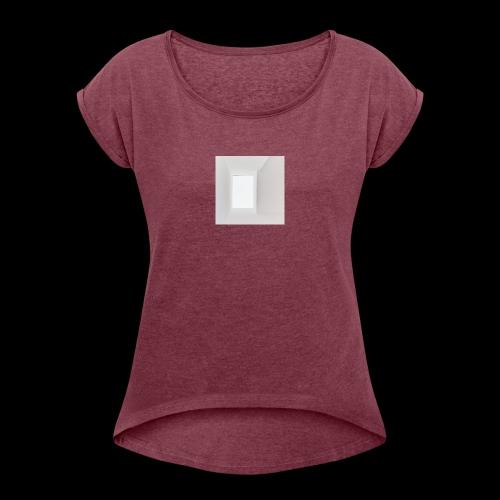 I N F I N I T Y - T-shirt à manches retroussées Femme