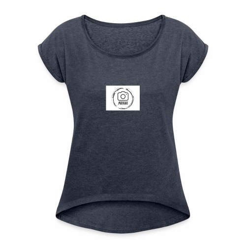 Michah - Women's T-Shirt with rolled up sleeves