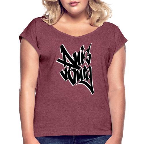 Duisburg - Frauen T-Shirt mit gerollten Ärmeln