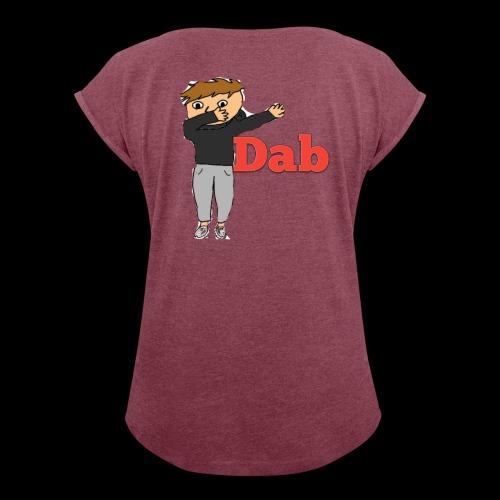 DAB - Frauen T-Shirt mit gerollten Ärmeln