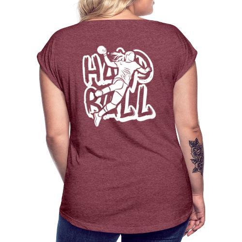 TAG HANDBALL F2 - T-shirt à manches retroussées Femme