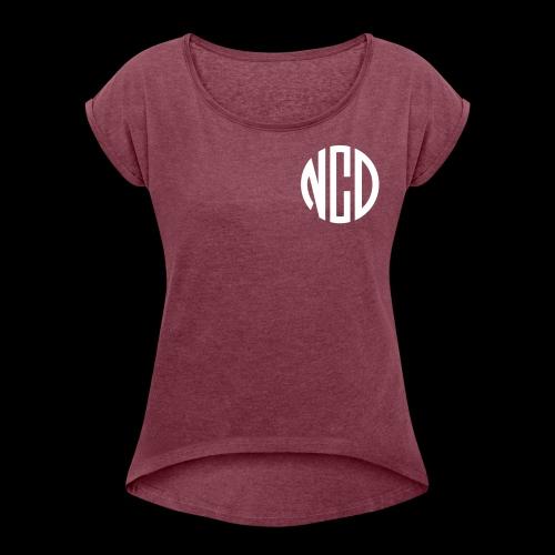 NCD frei - Frauen T-Shirt mit gerollten Ärmeln