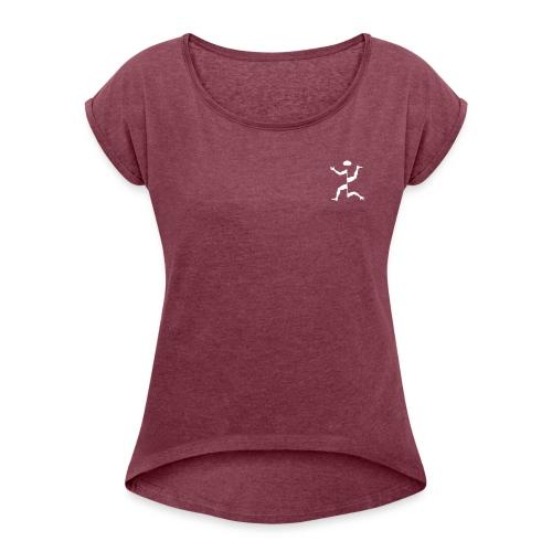 MomixMan Front - Maglietta da donna con risvolti
