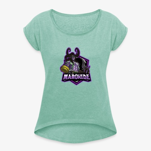 Maroxide Merch Store - Women's T-Shirt with rolled up sleeves