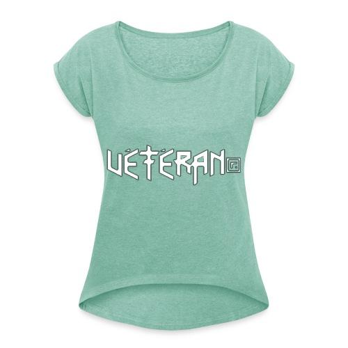 VÉTÉRAN® - T-shirt à manches retroussées Femme