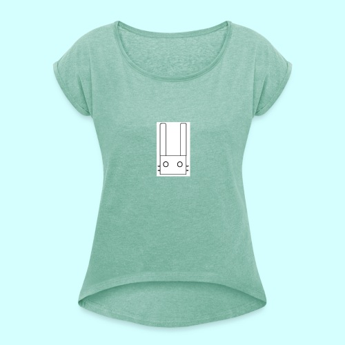 Logo Lyokus - T-shirt à manches retroussées Femme