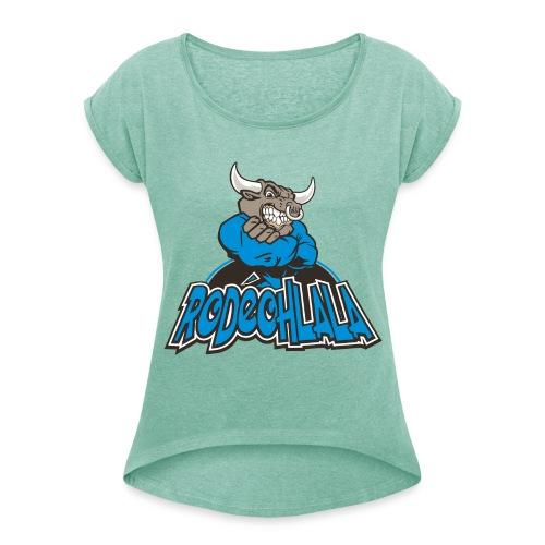 Rodéohlala - T-shirt à manches retroussées Femme