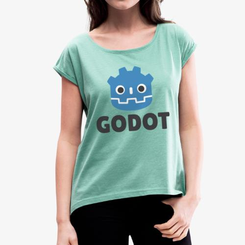Godot - Women's T-Shirt with rolled up sleeves