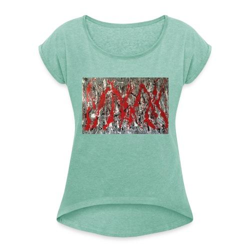 Inferno - T-shirt à manches retroussées Femme