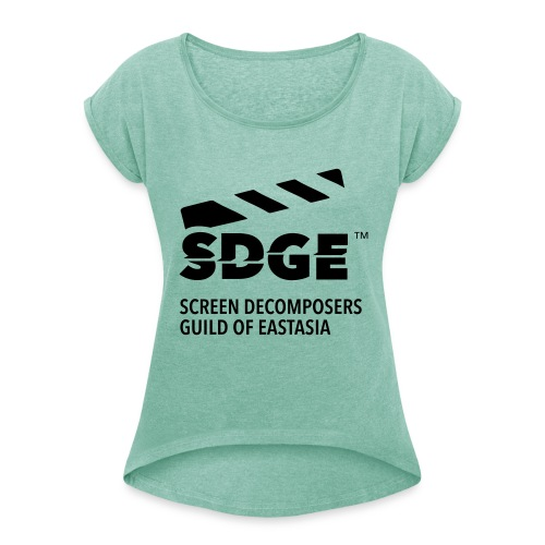 Screen Decomposers Guild of Eastasia - T-shirt à manches retroussées Femme