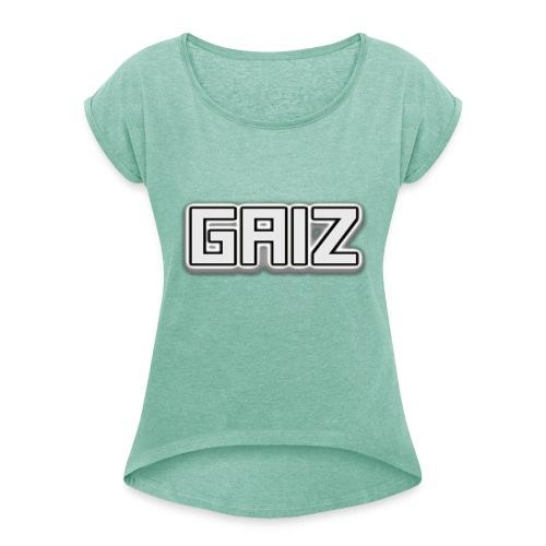 Gaiz maglie-senza colore - Maglietta da donna con risvolti