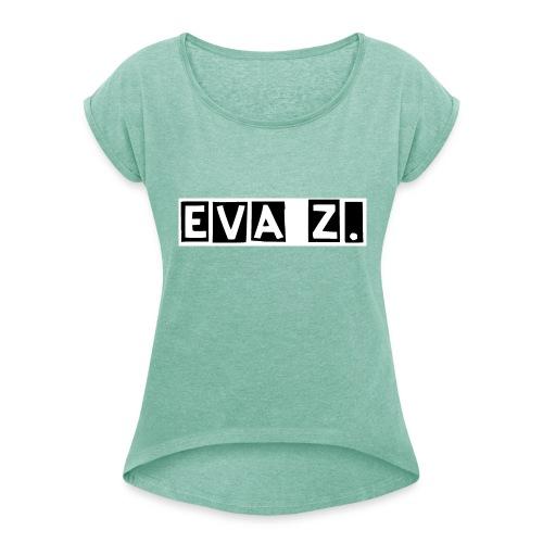 EVA Z. - Maglietta da donna con risvolti