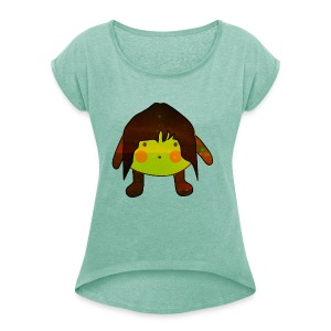 Sister Lemon V - Women's T-shirt with rolled up sleeves