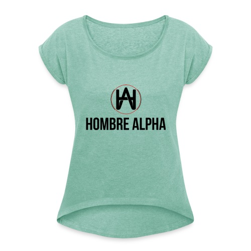 Gorra Hombre Alpha - Camiseta con manga enrollada mujer