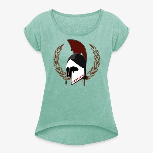 brataner - Frauen T-Shirt mit gerollten Ärmeln