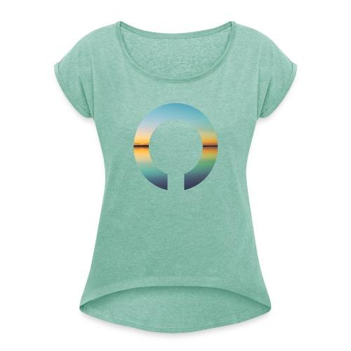 OVER - Original - Maglietta da donna con risvolti