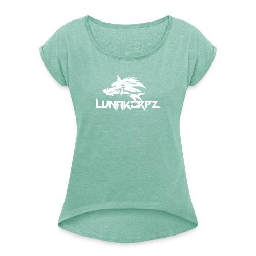 luankorpz new ones - Vrouwen T-shirt met opgerolde mouwen