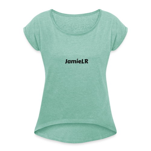 JamieLR - Women's T-Shirt with rolled up sleeves