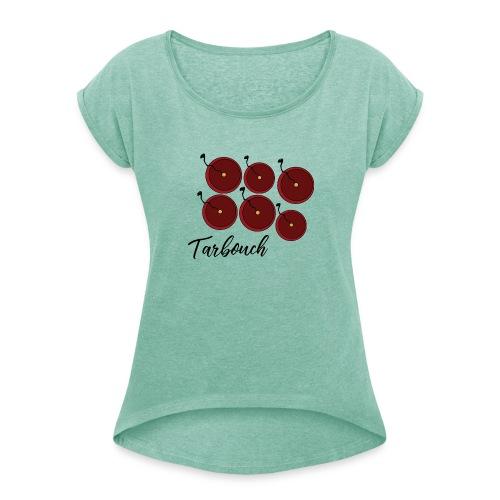 tarbouch - T-shirt à manches retroussées Femme