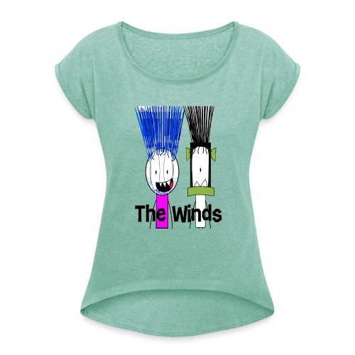 The Winds - Women's T-Shirt with rolled up sleeves