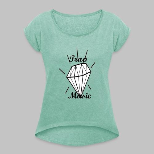 T-shirt Trap Music Genus - Maglietta da donna con risvolti