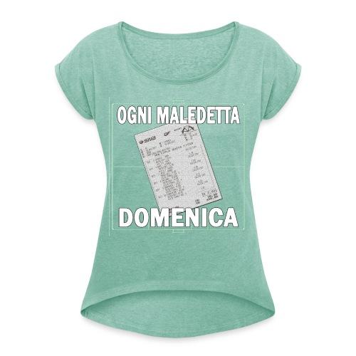 OGNI MALEDETTA DOMENICA - Maglietta da donna con risvolti