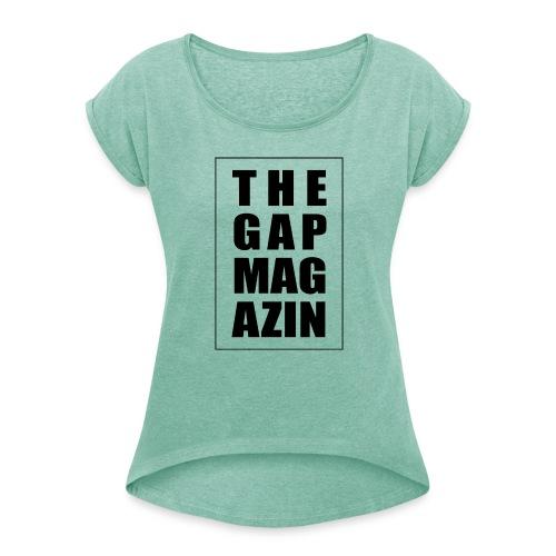 Number one - Frauen T-Shirt mit gerollten Ärmeln