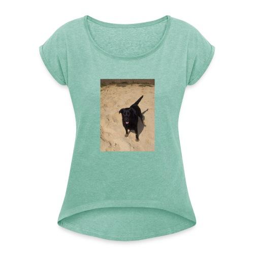 Sandpfoten - Women's T-Shirt with rolled up sleeves