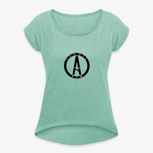 Anodic LOgo png - Camiseta con manga enrollada mujer