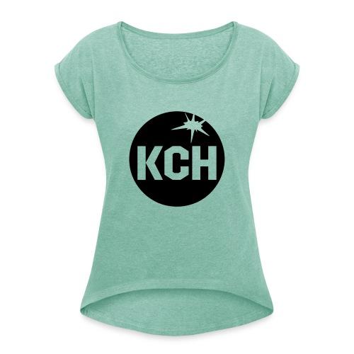 KCH Kegel - Frauen T-Shirt mit gerollten Ärmeln