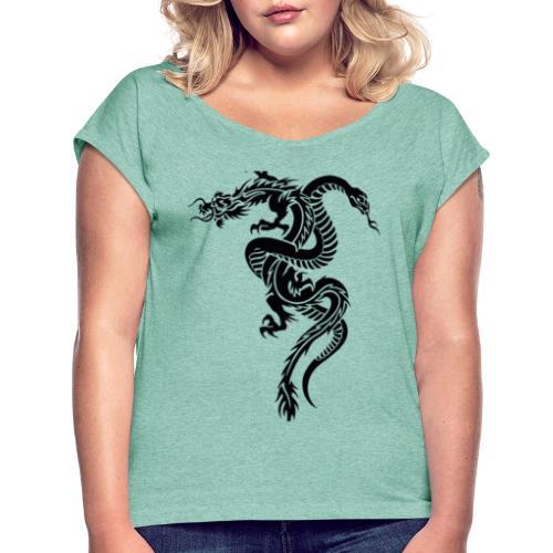 Dragon & serpent collection! Limited edition! - Maglietta da donna con risvolti