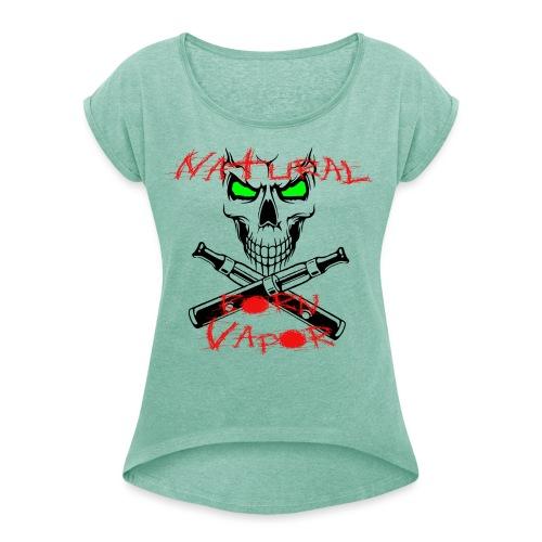 NBV - Frauen T-Shirt mit gerollten Ärmeln