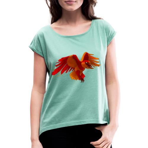 Crowley - Frauen T-Shirt mit gerollten Ärmeln