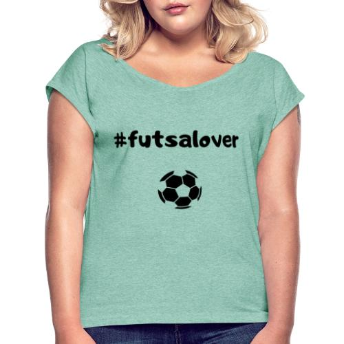 Futsal! - Maglietta da donna con risvolti