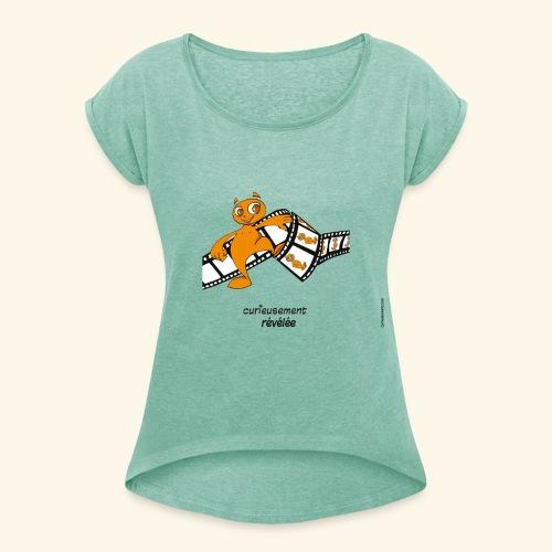 révélé femme - T-shirt à manches retroussées Femme
