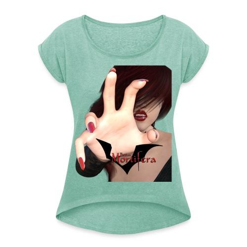 Take it - Frauen T-Shirt mit gerollten Ärmeln