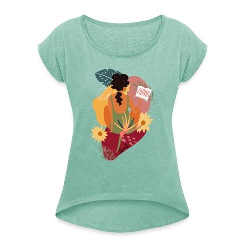 Summer girl - Maglietta da donna con risvolti