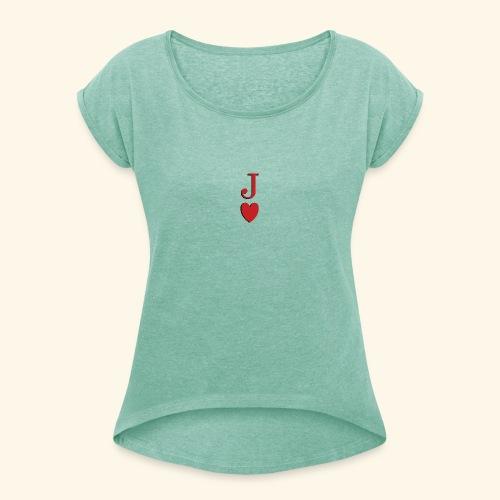 Valet de trèfle - Jack of Heart - Reveal - T-shirt à manches retroussées Femme