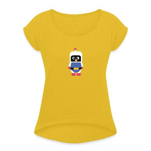 Pingouin Dyna - T-shirt à manches retroussées Femme