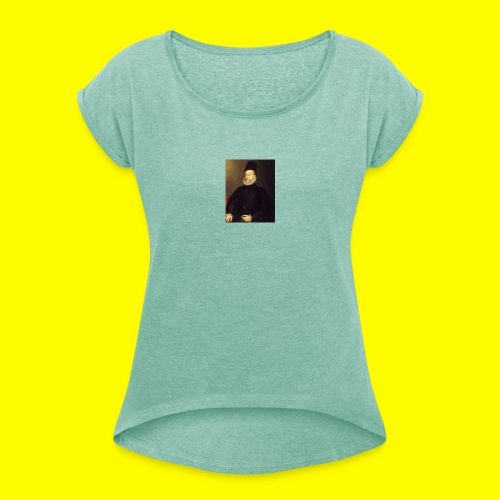 Felipe II - Camiseta con manga enrollada mujer