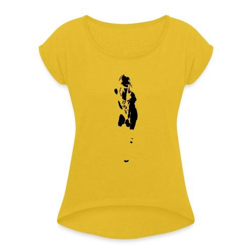 She Rocks - Maglietta da donna con risvolti