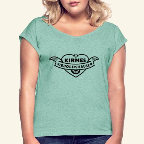 klein ORIGINAL 1 - Frauen T-Shirt mit gerollten Ärmeln