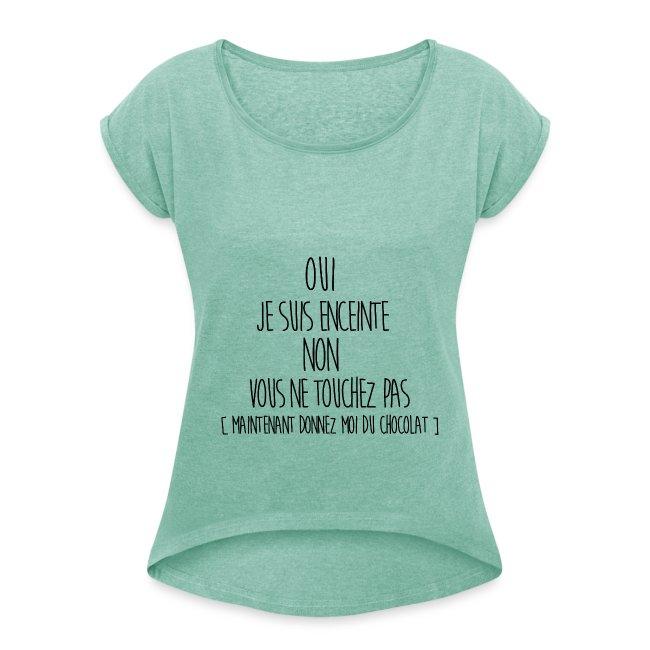 tee shirt femme enceinte rigolo