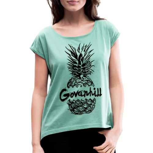Govanhill - Women's T-Shirt with rolled up sleeves